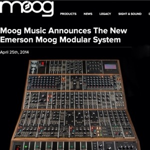 The Emerson Moog Modular Bourne Ios Musician