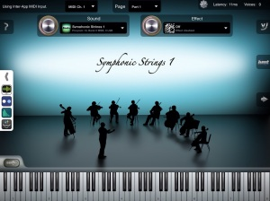 iSymphonic Orchestra in AudioBus